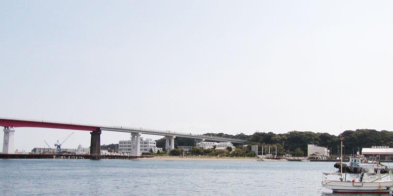 三浦市風景城ケ島大橋